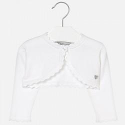 Mayoral 306-86 sweterek, bolerko białe