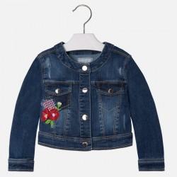 Mayoral 3467-62 kurtka jeansowa z haftem
