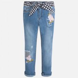 Mayoral 3531-61 spodnie z haftem