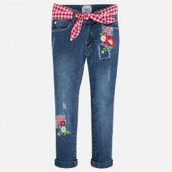 Mayoral 3531-62 spodnie z haftem