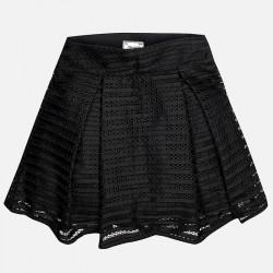 Mayoral 6905-27 Dziewczęca ażurowa spódnica zapinana na suwak