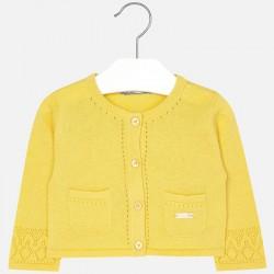 Mayoral 1321-66 sweterek, bolerko żółte