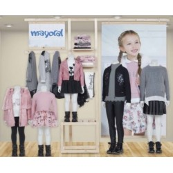 Mayoral zestaw dziewczęcy Rosa Confetti kolekcja jesień zima 2017 2018 r92-170