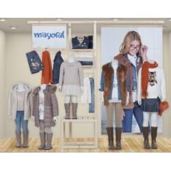 Mayoral nowa kolekcja jesień zima 2017 2018 zestaw dziewczęcy NARANJA DE OTONO r92-170