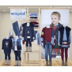Mayoral nowa kolekcja jesień zima 2017 2018 zestaw dziewczęcy WOODLAND r92-170