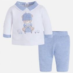 Mayoral komplet 2631-38 z długimi spodniami dla chłopca