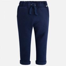 Mayoral 4553-43 Spodnie długie z dzianiny drapanej dla dziewczynki