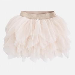 Mayoral spódnica 4909-75 krótka dziewczęca z tiulem
