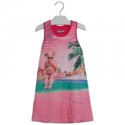 Sukienka z falbankami Mayoral 3997 kolor 032
