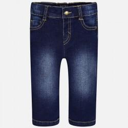 Mayoral spodnie 30-43 Długie dla chłopca z jeansowej tkaniny