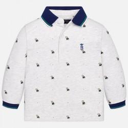 Mayoral bluzka 2119-47 Chłopięca koszulka polo z długim rękawem