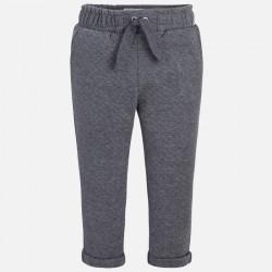 Mayoral 4553-45 Spodnie długie z dzianiny drapanej dla dziewczynki