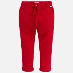 Mayoral 4553-44 Spodnie długie z dzianiny drapanej dla dziewczynki