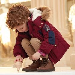 Mayoral kurtka 4455-10 Parka z futerkiem przy kapturze dla chłopca