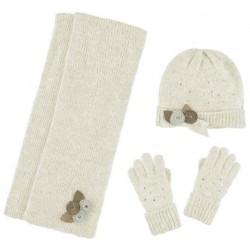 Mayoral komplet 10291-56 czapka szalik rękawiczki