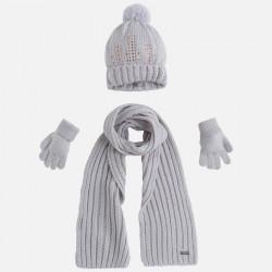 Mayoral komplet 10292-63 czapka szalik rękawiczki