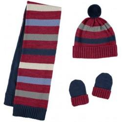Mayoral komplet 10222-37 czapka szalik rękawiczki