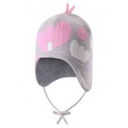 Reima Dziecięca czapka z wełny Vatukka 518424 kolor 9130