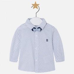 Mayoral koszula 2107-73 z długim rękawem z muszką dla chłopca