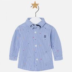 Mayoral koszula 2107-74 z długim rękawem z muszką dla chłopca