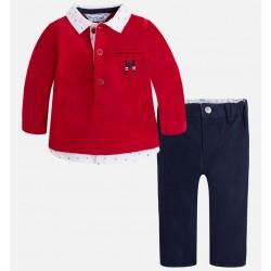 Mayoral komplet 2531-70 chłopięcy z długimi spodniami