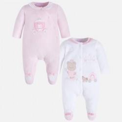 Mayoral 2731-69 Zestaw dwóch piżamek dla dziewczynki