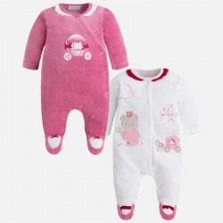 Mayoral 2731-70 Zestaw dwóch piżamek dla dziewczynki