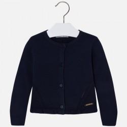 Mayoral sweter 4331-93 rozpinany na guziki dla dziewczynki z trykotu