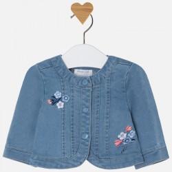 Mayoral kurteczka 1410-90 jeansowa dla dziewczynki baby