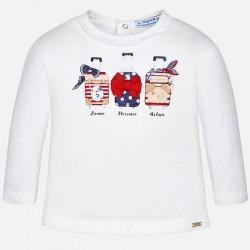 Mayoral bluzka 1034-86 Koszulka z długim rękawem dla dziewczynki baby