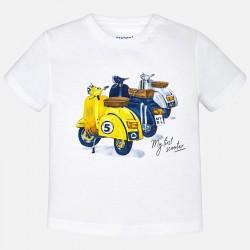Mayoral koszulka 1038-10 chłopięca z krótkim rękawem