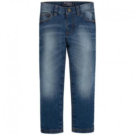 Spodnie jeansowe slim fit basic Mayoral 515 kolor 020