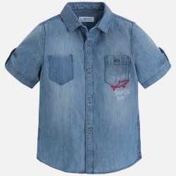 Mayoral Koszula 3160-05 jeansowa
