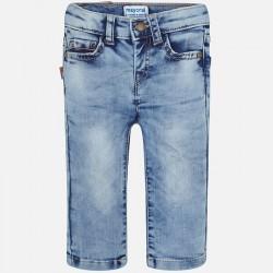 Mayoral Spodnie 1544-76 jeansowe dla chłopca baby