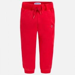 Mayoral Spodnie 742-42 dresowe wiosenne cienki materiał kolor wiśniowy