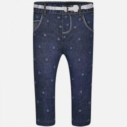 Mayoral Leginsy 1768-05 jeansowe dla dziewczynki