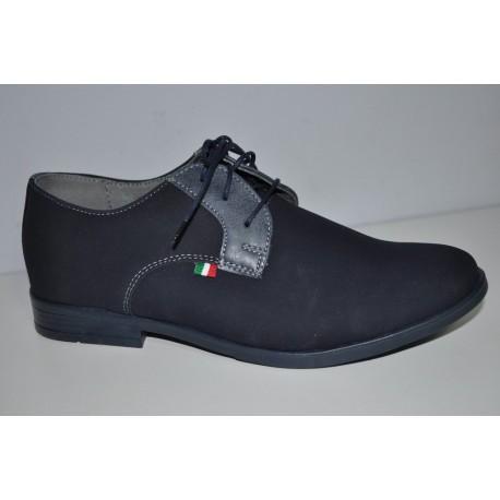 Buty komunijne granatowe chłopięce Kornecki 06120 r31-37