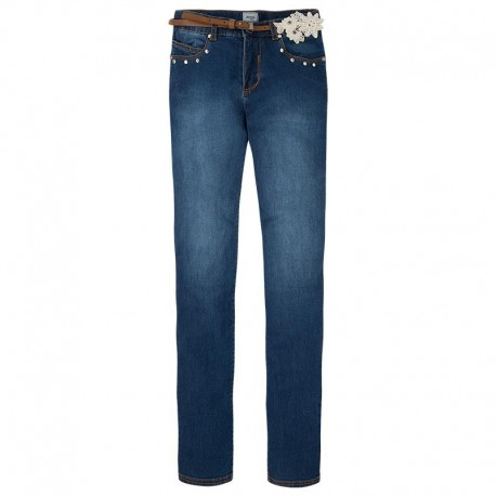 Spodnie jeansowe Mayoral 6503 kolor 022