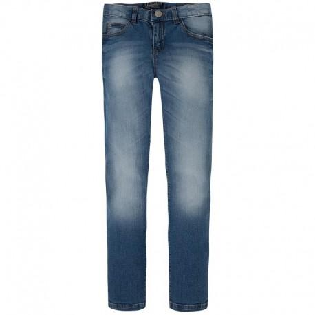 Spodnie jeansowe slim fit basic Mayoral 538 kolor 027