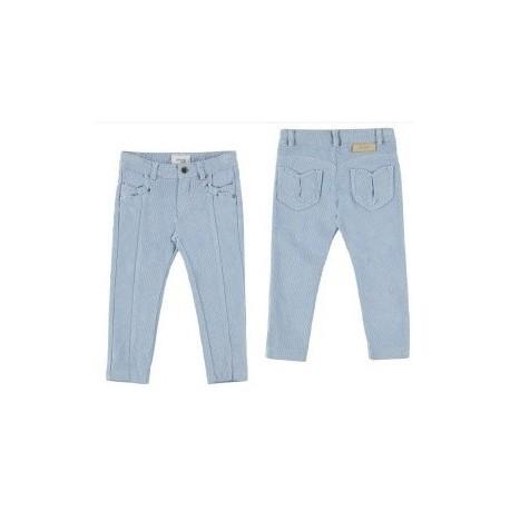 Spodnie sztruks połysk Mayoral 4549 kolor 090