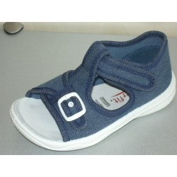 Sandałki, kapcie tekstylne Superfit 6-292-80 POLLY r19-26