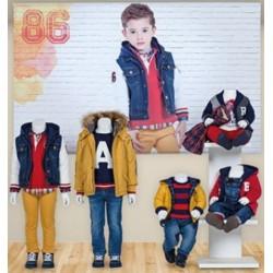 Mayoral zestaw jeans chłopięcy kolekcja BABY jesień zima 2016 2017 r62-92
