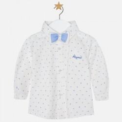 Mayoral Lawendowa koszula z muszką 2102 -77