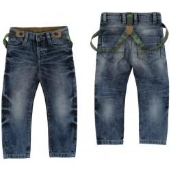 Mayoral spodnie z szelkami 4536 -82