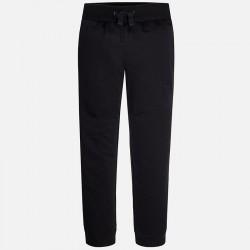 Mayoral czarne spodnie dresowe jesienne 705 54