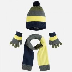 Mayoral komplet czapka szalik rękawiczki 10044 33