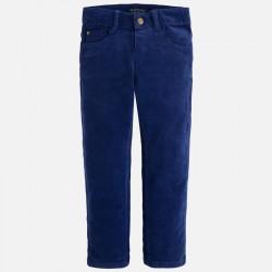 Mayoral spodnie sztruks slim fit basic 537 60
