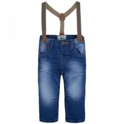 Spodnie chłopięce z szelkami Mayoral 1535 kolor 014