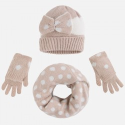 Mayoral komplet czapka szalik rękawiczki 10078 23
