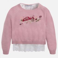 Mayoral komplet sweter z koszulka 4320 -33